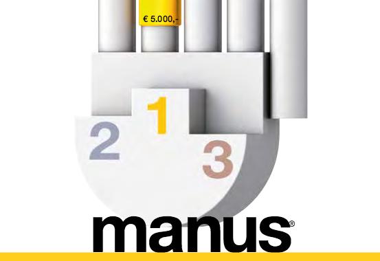 Nos conceden Mención Especial del Jurado del Concurso Internacional MANUS 2015 de la empresa Alemana IGUS